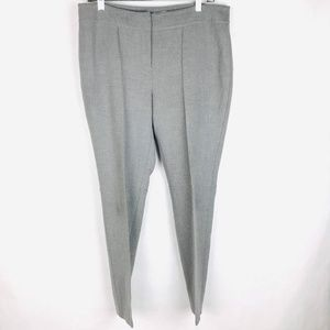 Ann Taylor Loft Soft Ankle Pants Stitched Crease